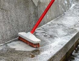 best brooms for concrete surfaces.