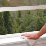 Does opening the windows reduce the amount of dust in a room.