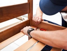 How to fix a broken bed frame.