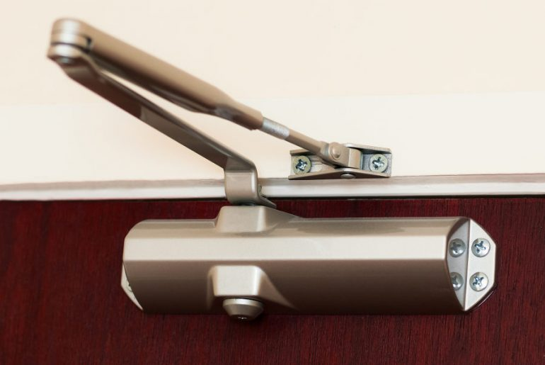 Types of door closers available.