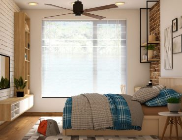 Keep your upstairs bedroom cool even without using an air conditioner.