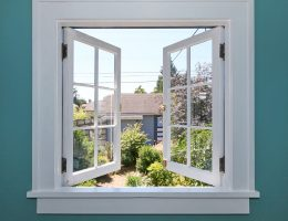 Open window to reduce humidity.