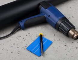 How to use heat gun to remove paint from metal.