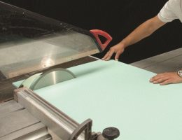 How to cut and seam Corian.