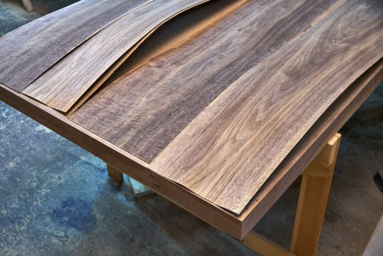 How to fix a veneer that is lifting.