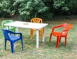 How to renew plastic outdoor furniture.