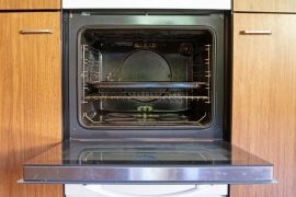 Effective ways to clean oven racks.