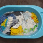 How long to soak clothes before you hand wash them.