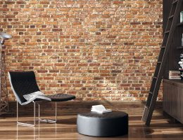 Hanging things on brick wall without drilling.