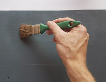 Polyurethane is very useful to 'lock in' the look of a fresh coat of paint and create a permanent fixture.