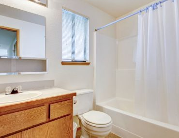 Best shower curtains for small bathrooms.